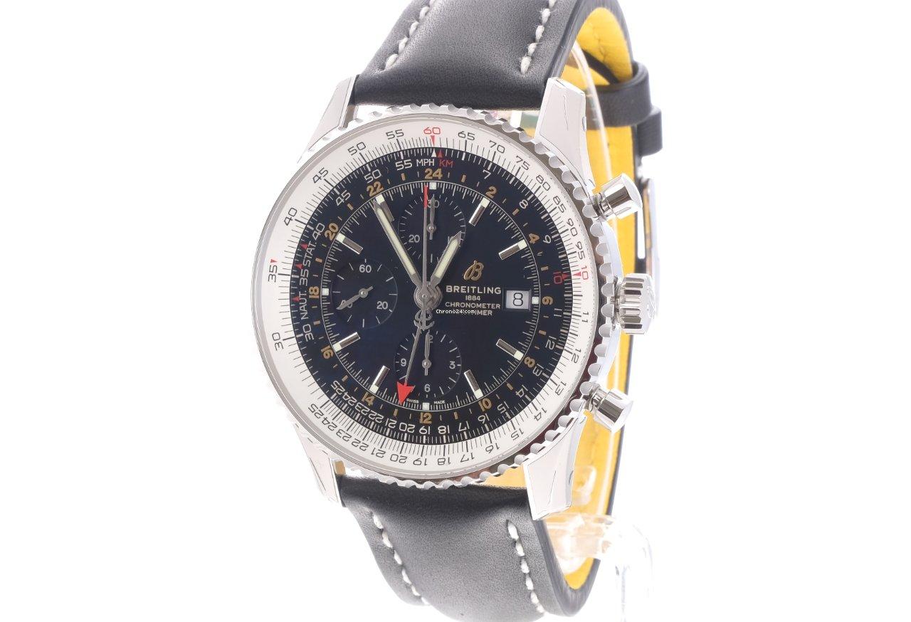Breitling Navitimer World A2432212/B726/441X 2021 новые
