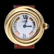 Cartier Trinity Silber 26mm Weiß Römisch