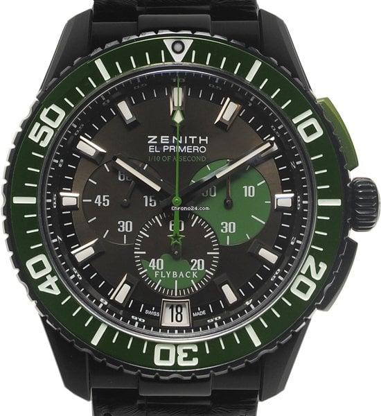 Zenith El Primero Stratos Flyback 24.2062.4057/77.C724 2012 usados