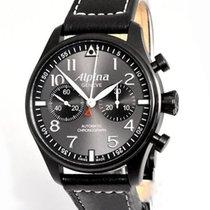 Alpina Startimer Pilot Automatic AL860GB4FBS6 Nuevo Acero 44mm Automático