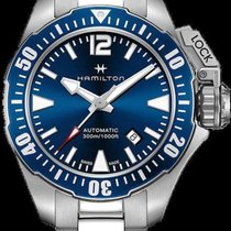 Hamilton Khaki Navy Frogman H605.776.105 2020 new