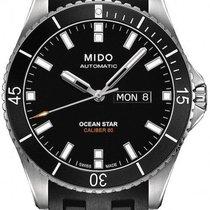 Mido Ocean Star Stal 42.5mm Czarny