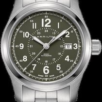 Hamilton Khaki Field Steel 42mm Green