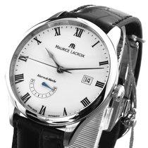 Maurice Lacroix Masterpiece Réserve de Marche neu 2019 Automatik Uhr mit Original-Box und Original-Papieren MP6807-SS001-112