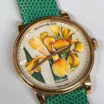 Arnold & Son HM Flower Pозовое золото 40mm Без цифр