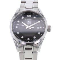 TAG Heuer Damenuhr Carrera Lady 28mm Quarz gebraucht Uhr mit Original-Box und Original-Papieren 2016