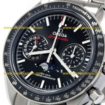 Omega Speedmaster Professional Moonwatch Moonphase 304.30.44.52.01.001- SPEEDMASTER MONWATCH Master Crono New Steel 44,25mm Automatic