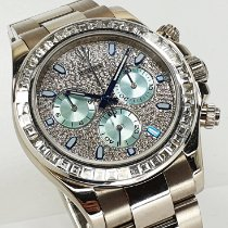 勞力士 Daytona 116509 in 116576TBR optik 好 白金 40mm 自動發條