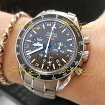 Omega Speedmaster HB-SIA new 2021 Automatic Chronograph Watch with original box and original papers 321.90.44.52.01.001 OMEGA SOLAR IMPULSE Chrono Automatico GMT Titanio 44mm