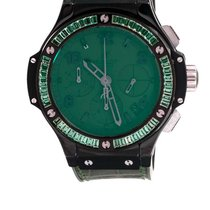Hublot Big Bang Tutti Frutti Ceramic 41mm Green Arabic numerals