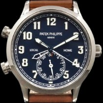 Patek Philippe Travel Time White gold 42mm Blue Arabic numerals United States of America, New York, New York