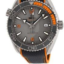 Omega 215.92.44.21.99.001 Titane 2021 Seamaster Planet Ocean 43.5mm nouveau