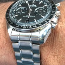 Omega Acier 44,25mm Remontage automatique 329.30.44.51.01.001 SPEEDMASTER RACING Moonwatch Acciaio nouveau