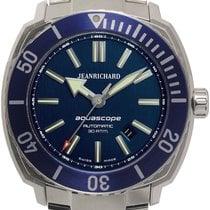JeanRichard Aquascope Сталь 46mm Синий
