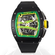 Richard Mille RM 061 Ceramic 50mm Transparent No numerals