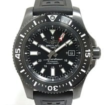 Breitling Superocean 44 Steel 44mm Black No numerals United States of America, New York, New York