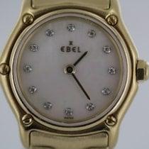 Ebel Wave Gelbgold 23mm Perlmutt Keine Ziffern Deutschland, Eisenach
