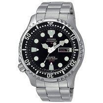 Citizen Promaster Marine Steel 42mm Black No numerals