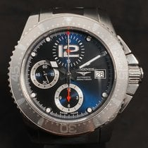 Longines L3.644.4 Steel 2007 HydroConquest 41mm pre-owned