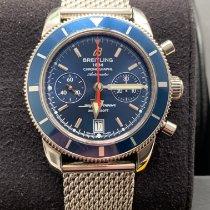 Breitling Superocean Héritage Chronograph Zeljezo Plav-modar