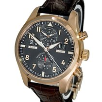 IWC IW379103 Red gold 2017 Pilot Spitfire Perpetual Calendar Digital Date-Month 46mm pre-owned