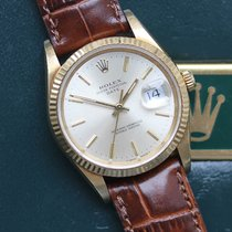 Rolex Oyster Perpetual Date Or jaune 34mm