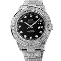Rolex Datejust II Steel 41mm Black No numerals United States of America, New York, NEW YORK CITY