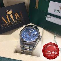Rolex Sky-Dweller Acier 42mm Bleu Sans chiffres France, MARSEILLE