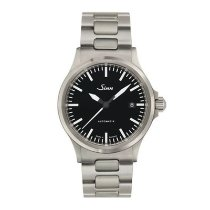 Sinn 556 Steel 39mm Black No numerals
