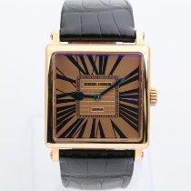 Roger Dubuis Aur rosu Atomat Auriu Roman 37mm nou Golden Square