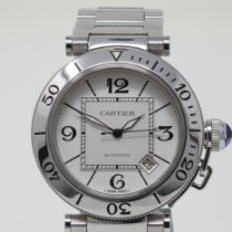 Cartier Pasha Seatimer Steel 40mm White United Kingdom, London