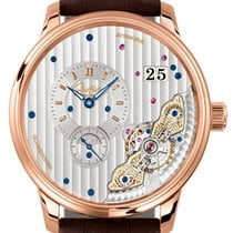 Glashütte Original PanoMaticInverse Rose gold 42mm Silver
