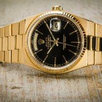 Rolex Day-Date Oysterquartz Gelbgold 36mm Schwarz Deutschland