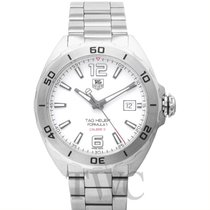 TAG Heuer Formula 1 Calibre 5 Staal 41mm Wit