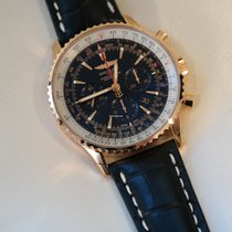 Breitling Red gold Automatic Black No numerals 46mm new Navitimer 01 (46 MM)