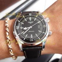 Longines Legend Diver L3.674.4.50.0 Longines SUB Heritage Automatico Acciaio Nero LEGEND DIVER 2020 new