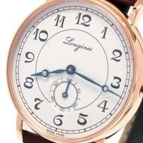Longines Présence Heritage Rose gold 34mm Silver Arabic numerals