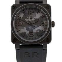 Bell & Ross BR 03-92 Ceramic BR0392-CAMO-CE/SRB New Ceramic 42mm Automatic