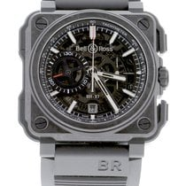 Bell & Ross Carbon Automatic Transparent 45mm new BR-X1