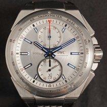 IWC Ingenieur Chronograph Racer Acero 45mm Plata Sin cifras