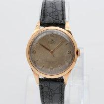 Rolex Bubble Back Oro rosa 35mm Arábigos