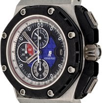 Audemars Piguet Royal Oak Offshore Grand Prix Platina 46mm Geen cijfers