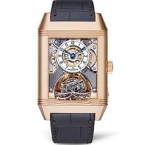 Jaeger-LeCoultre Rose gold Manual winding Transparent Arabic numerals 36mm pre-owned Reverso Gyrotourbillon 2
