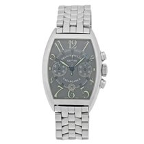 Franck Muller Steel Automatic Silver Arabic numerals 40mm pre-owned Casablanca