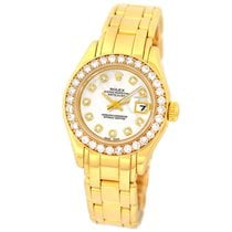 Rolex Lady-Datejust Pearlmaster 29mm Nacre