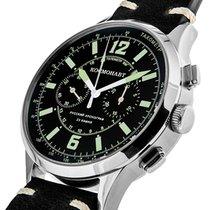 Poljot 3133/06331003 Watch model Cosmonaut Yuriy Gagarin Neu Stahl 47mm Handaufzug
