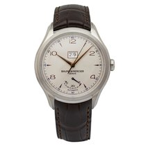 Baume & Mercier Clifton M0A10205 New Steel 43mm Automatic