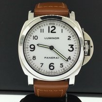 Panerai Luminor Base Steel 44mm White Arabic numerals United States of America, New York, New York
