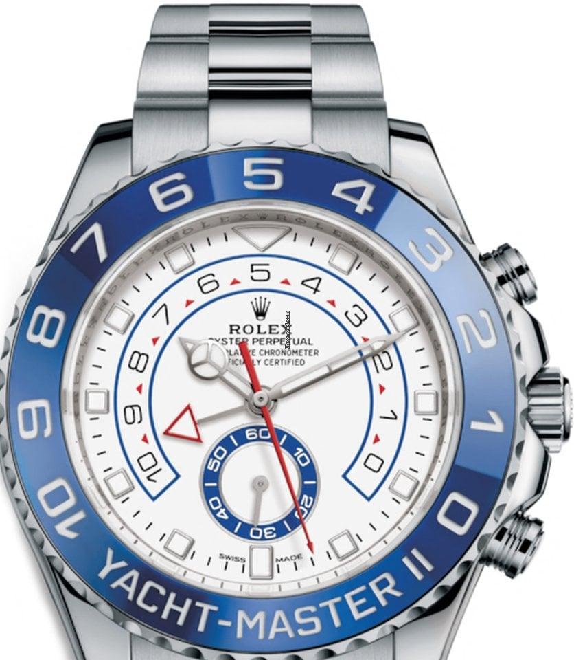 Rolex Yacht-Master II Rolex 116680  Yacht-Master II Blue Ceramic Bezel  new dial 2021 new