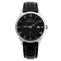 Maurice Lacroix Masterpiece Small Seconde Stahl 40mm Schwarz